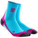 cep Dynamic+ Short Socks Women hawaii blue/pink
